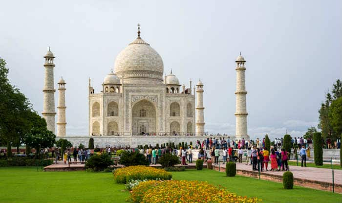 66-year-old Japanese tourist dead after falling from stairs at Taj Mahal