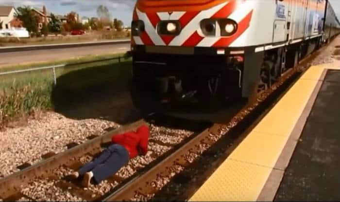 These dangerous train stunts will leave you shocked!