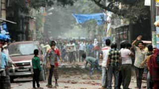 Muzaffarnagar on boil again after clashes erupted over eve-teasing of a girl