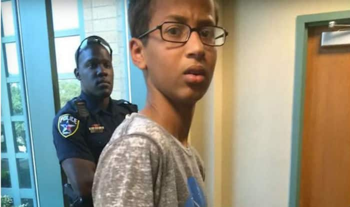 #IStandWithAhmed: Muslim boy arrested after police mistook his clock for a bomb