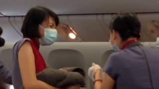 OMG! Lady delivers baby in-flight between China and USA!