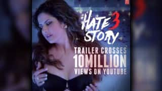 Hate Story 3 trailer crosses 10 million views!