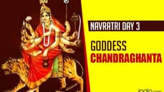 Navratri 2015 Day 3: Worship Maa Chandraghanta, Goddess of peace and bravery