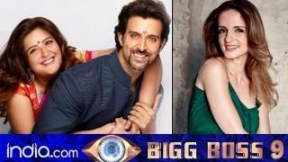 Hrithik Roshan's sister Sunaina Roshan or ex-wife Sussanne Khan should enter Bigg Boss 9?
