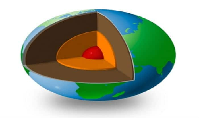 Earth's inner core formed about 1 billion years ago