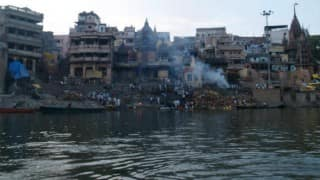 Hundreds clean Ganga ghats in four states