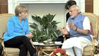 मोदी, मर्केल बेंगलुरू में प्रौद्योगिकी पर करेंगे बातचीत