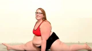 Watch: Inspiring story of a plus-size pole dancer beating obesity in a unique way!