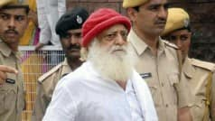 Ignoring HC warning, Asaram speaks to media