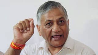 V K Singh appeals people to rise above 'narrow boundaries'
