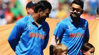 Interesting! MS Dhoni, Virat Kohli and Ravi Shastri cheer for South African team