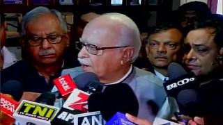 L K Advani condemns ink attack on Sudheendra Kulkarni; says intolerance is on the rise