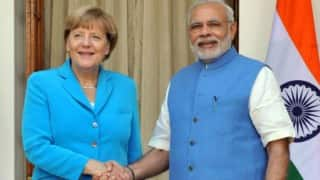 Narendra Modi and Angela Merkel visited the facilities of German automotive major Bosch