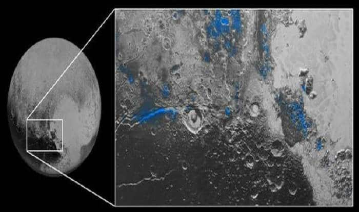 NASA spacecraft finds blue skies, water ice on Pluto ...
