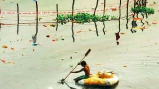 Yamuna may be less polluted this Durga Puja