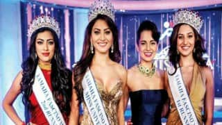 Actress Urvashi Rautela crowned Miss Diva 2015