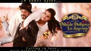 Shah Rukh, Kajol recreate iconic poster of DDLJ