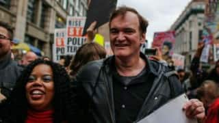 New York police union calls for Quentin Tarantino boycott