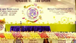 Food festival Aahare Bangla inaugurated in West Bengal