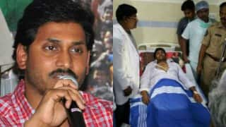 Jaganmohan Reddy rushed to hospital after his health deteriorates