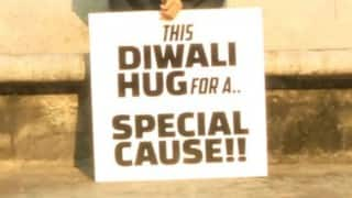 Free hugs for Special Cause this Diwali — Watch full video