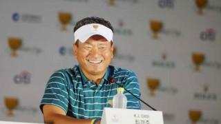 गोल्फ : कोरिया के दिग्गज चोई अंतर्राष्ट्रीय टीम के उप-कप्तान नियुक्त