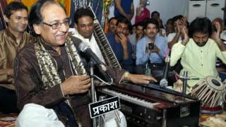 Congress propose to organise Ghulam Ali concert - Too late to join the political game!