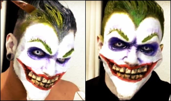Halloween Special This Joker Make Up Tutorial Will Make You - Joker-makeup-tutorial