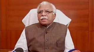 Manohar Lal Khattar clarifies on beef remark; Says his words were 'misconstrued and twisted'