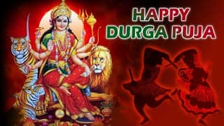 Durga Puja 2015 in Hindi: Best Durga Puja SMS, Shayari, WhatsApp Messages to wish Happy Durga Puja greetings!
