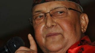 K P Sharma Oli sworn in as Nepal Prime Minister