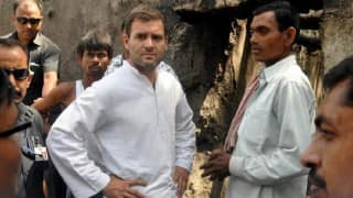 Ballabgarh: Rahul Gandhi meets victims of caste violence; demands justice for Dalit family