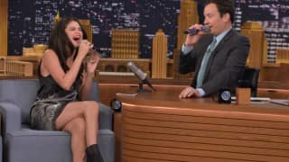 Selena Gomez's Dubsmash act on Jimmy Fallon show is cuteness overloaded