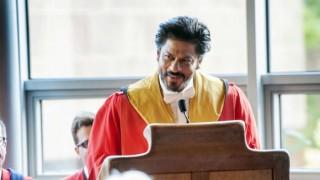 Shah Rukh Khan gives Bollywood style gyan in University of Edinburgh