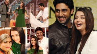 Aishwarya Rai calls Abhishek Bachchan 'handsome with brains' on Comedy Nights with Kapil show!