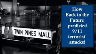 How Back to the Future movie predicts 9/11 terrorist attacks - watch amazing film study!
