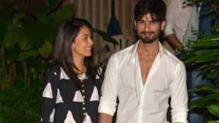 Shahid Kapoor's romantic dinner date with wife Mira!