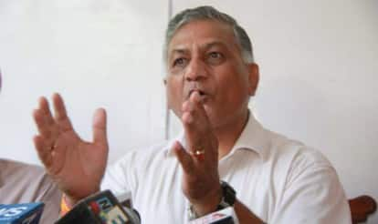 Opposition pillories V K Singh for dog remark on dalit killing