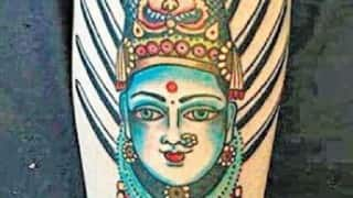 Intolerance Strikes Again: Australian Couple harassed over tattoo of Indian Goddess, forced to make written apology in Bengaluru (Watch Video)
