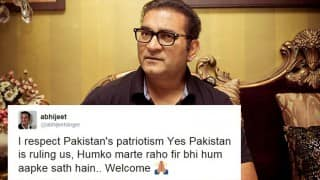 Abhijeet Bhattacharya does it again; tweets irresponsibly, provokes anger against Pakistan