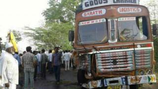 उप्र में ट्रक पलटने से 7 मजदूरों की मौत