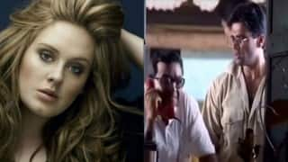 Hello! Adele talks to Baburao from Hera Pheri in this funny video! (Swear word alert)