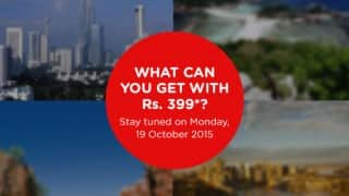 AirAsia's festive sale to start from Rs399?