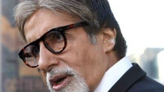 Music was integral part our life since childhood: Amitabh Bachchan