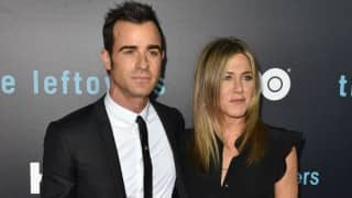 Jennifer Aniston and Justin Theroux's first public appearance as married couple! See Pic