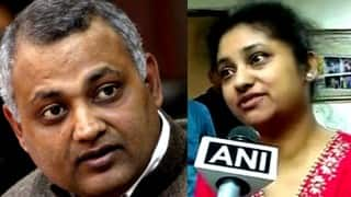 Twin blow for Somnath Bharti; Supreme Court rejects bail plea, wife Lipika Mitra turns down mediation offer