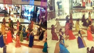 The Ultimate Aunty Dance! This first ever saree flash mob in Delhi will make your day