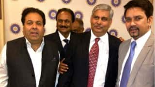 Shashank Manohar appointed as BCCI President