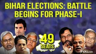 Bihar election: 1st phase polling on October 12: 49 assembly segments contested; Complete list of candidates