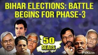 Bihar elections: Polling for third phase begins, 50 seats contested across 6 districts; Complete list of candidates